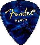 Fender 098-2351502351Shape Premium Picks Heavy Blue Moto, 144Count