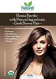 Henna Pulver für dunkle braun Farbe Haar 100% Pure, stärkt, Glanz, Chemikalien, USDA Bio zertifiziert, Halal, koscher zertifiziert. Frei Porto
