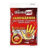 Thermopad Handwärmer   kuschlig weiches Wärmekissen   12 Stunden wohltuende Wärme von 55°C    angenehme Taschenwärmer   10er Pack -