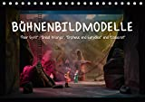 Bühnenbildmodelle (Tischkalender 2019 DIN A5 quer): Bühnenbilder, Raumentwürfe, Theaterwelten für Musical, Schauspiel und Oper. (Monatskalender, 14 Seiten ) (CALVENDO Kunst)