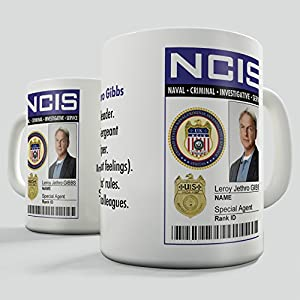 NCIS Badge - Leroy Zethro Gibbs Mug