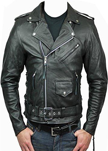 Von AZ Premium Qualität Brando Leder jacketin alle Benutzerdefinierte Größe 's