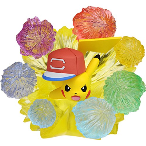 Pokemon Moncolle EX EZW_06 Ash Ketchum Pikachu 10000000 Volt Thunderbolt