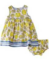 Pumpkin Patch Baby-Girls Lemon Spot with Knickers Dress