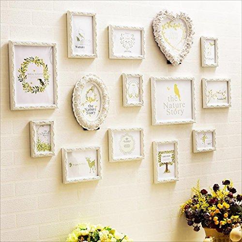 Preisvergleich Produktbild Multi Bilderrahmen Foto Wand mit hochwertigen Rahmen groß
