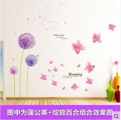 ybfq-camere-accoglienti-creative-decorazioni-murali-e-camere-fresche-idilliaco-tarassaco-bloom-su-e-
