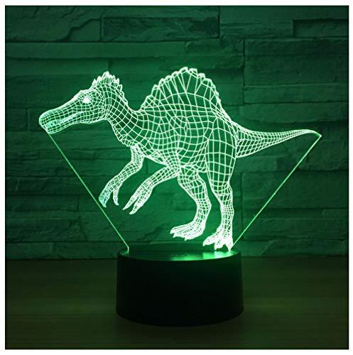 Nachtlicht NachttischLampe Drache 3D Lampe Neuheit Luminaria De Mesa 3D Leuchten Weihnachtsschmuck Geschenk Für Babyzimmer Led Nachtlicht -