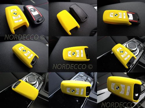 high-quality-silicone-wireless-smart-2-3-4-key-fob-protector-case-bmw-1-3-5-6-7-series-model-yellow