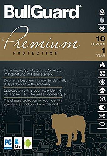 BullGuard Premium Protection 2018 | 10 Geräte | 1 Jahr