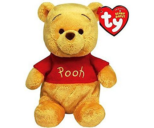 """WINNIE DE POOH - Peluche """"Winnie de Pooh"""" (sentado 20cm y 27cm de pie) - Calidad Super Soft"""