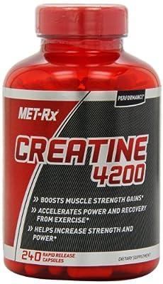 MET-Rx Creatine 4200 240 caps from MetRX