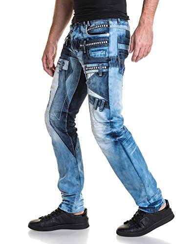 BLZ jeans - Jean blau Mann Phantasie Zimmer déalvé Blau
