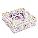 Schöne, romantische & moderne Teebox in Rosa