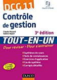 DCG 11 - Contrôle de gestion - 3e éd - Tout-en-Un