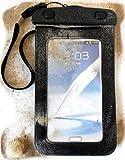 PRESKIN - Wasserfeste Tasche bis 5.7 Zoll Display, Wasserdichte Smartphone Schutzhülle / Handy Hülle (Beachbag5.7