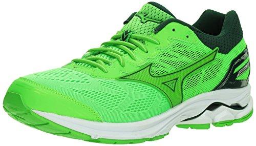 Mizuno Wave Rider 21 Men's Running Shoes Slime-Green Gecko