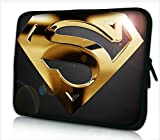 13-13.3 Zoll Tablet Hülle, laptoptasche - zoll Fall Neopren für Notebooks Dell HP Macbook Samsung Apple Toshiba (13 gold superman)