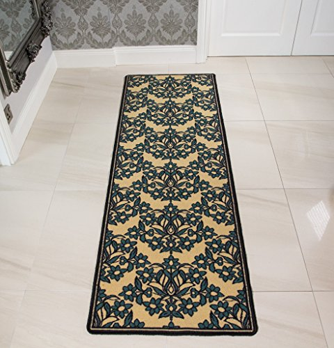 modern-teal-floral-design-affordable-machine-washable-non-slip-rubber-kitchen-mat-luna-66cm-x-100cm