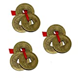 Divya Mantra Combo Pack Of 3 Feng Shui 3 Chinese Coins