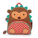Skip Hop Zoo Backpack, Brown Hedgehog, 3 Years Plus Color: Brown Hedgehog