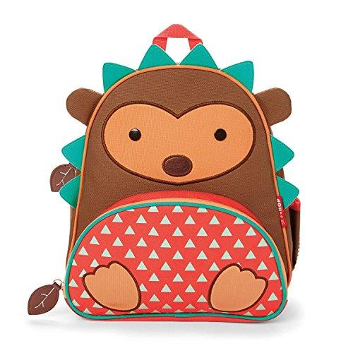 Skip Hop Zoo Mochila, Brown Hedgehog, 3 Años Plus Color: Marrón erizo