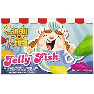 Candy Crush Soft Jelly Fish Theatre Box 3 OZ (85g)