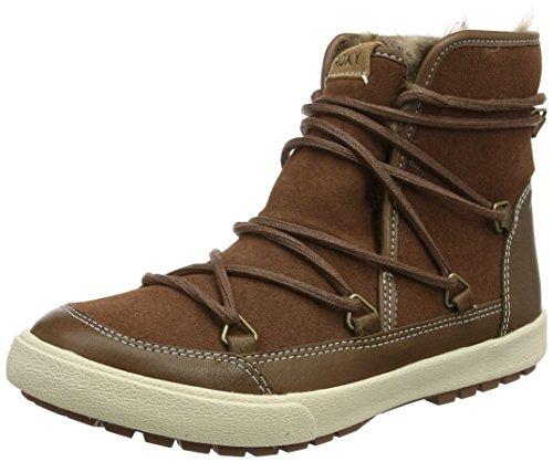Roxy Damen Darwin Stiefel, Braun (Tan), 41 EU (Suede Boot Lace Faux Up)