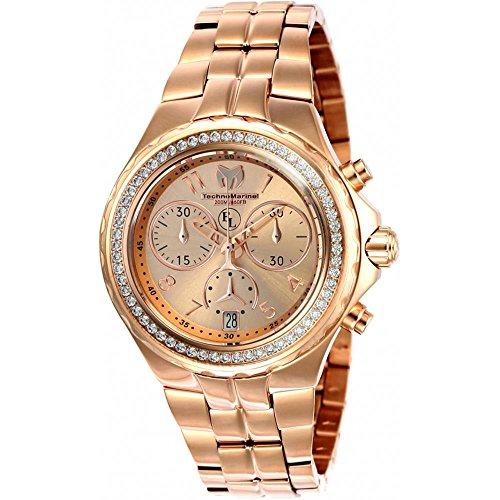 technomarine-womens-eva-longoria-40mm-rose-gold-tone-steel-bracelet-case-quartz-analog-watch-tm-4160