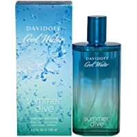 Cool Water Summer Dive by Davidoff for Men - 4.2 Ounce EDT Spray (Limited Edition) by Davidoff