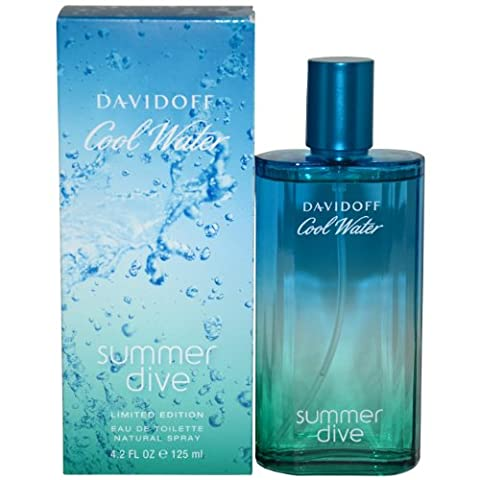 Davidoff Cool Water Summer Dive Eau de Toilette 125ml Spray