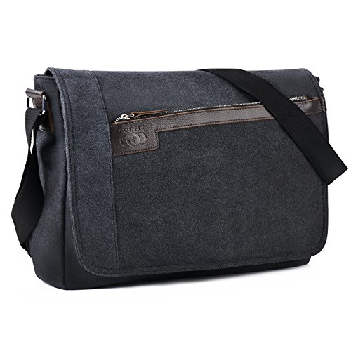 COOFIT Sac bandouliere homme Besace homme toile...