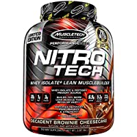 Muscletech Nitrotech Performance Series Whey Protein Brownie Cheesecake 4 Lbs