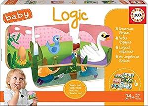 Educa Borrás- Baby Logic Puzzle, Multicolor (18120)