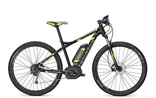 E-Bike Focus JARIFA BOSCH 9G 29\' 11AH/36V/400Wh Herren in black matt, Rahmenhöhen:47;Farben:blackm 36v/11ah