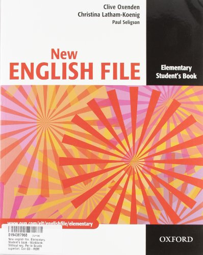 New english file. Elementary. Student's book-Workbook. Without key. Per le Scuole superiori. Con CD-ROM