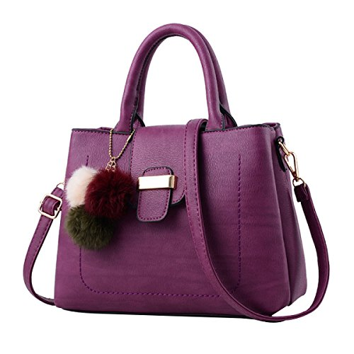 Borse Nuove Del Sacchetto Del Messaggero Della Spalla Di Modo Dolce Purple