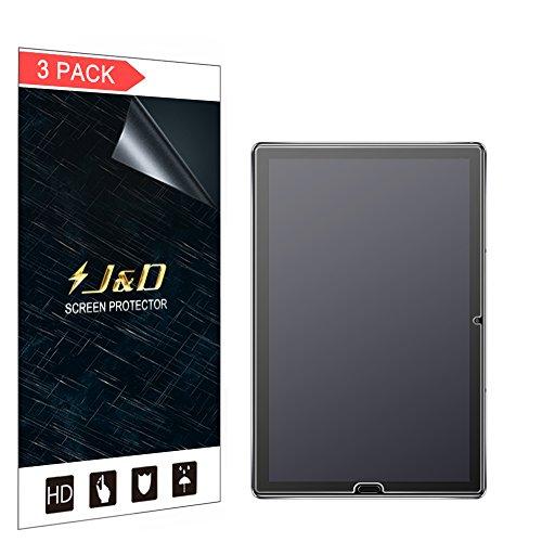 J und D Kompatibel für 3er Packung Huawei MediaPad M5 10.8 inch Bildschirmschutzfolie, [Antireflektierend] [Anti Fingerabdruck] Matte Folie Schutzschild Bildschirmschutzfolie für Huawei MediaPad M5 10.8 inch