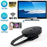 Prom-near Wireless WiFi 1080P Full HD HDMI Bildschirm TV Receiver Adapter Unterstützung Google Chromecast für Netflix YouTube Miracast AirPlay Spiegelung für Android/Mac/iOS/Windows