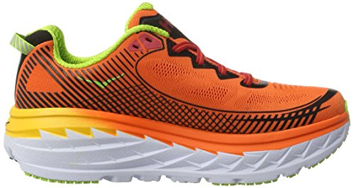 Hoka One Bondi 5, Scarpe Running Uomo Arancione (Red Orange/gold Fusion)