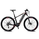 SAVADECK Knight9.0 Carbon Fiber bici elettrica Mountain Bike Pedalec MTB Pedelec con Shimano SLX M6000 20S e rimovibile 36V/10.4Ah SAMSUNG Li-ion Battery(27.5*17'')