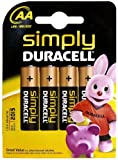 Duracell Simply AA 4Pack Alkali 1.5V