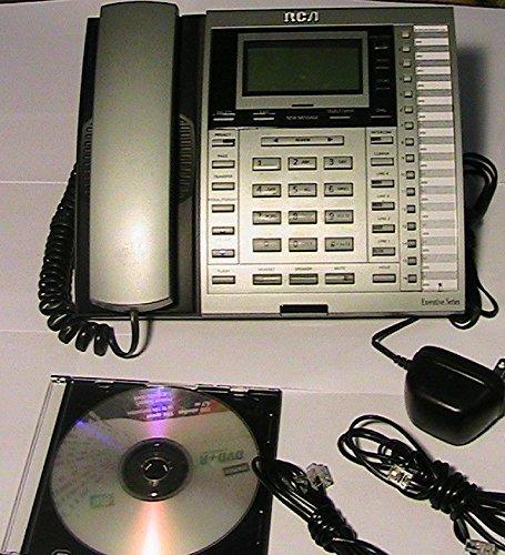 RCA 25414Re3-Ein 4-Linien-Soho 16 Erweiterungen Schnurgebundenes Telefon Mit Anrufer-Id / Anklopfen (Schnurgebundene Freisprecheinrichtung, Anrufer-id)
