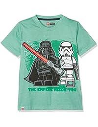 LEGO WEAR Jungen T-Shirt Star Wars Darth Vader 71171