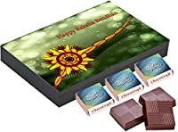 Chococraft Rakhi for Brother Online 9 Chocolate Box