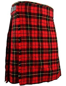 Para falda escocesa Wallace tradicional escocés de cuadros escoceses todos los tamaños