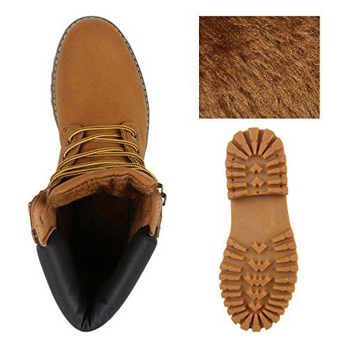 Stivali Da Uomo Foderati Stivali Da Lavoro Da Uomo Scarpe Outdoor Stringate Stivali Flandell Marrone Chiaro Giallo