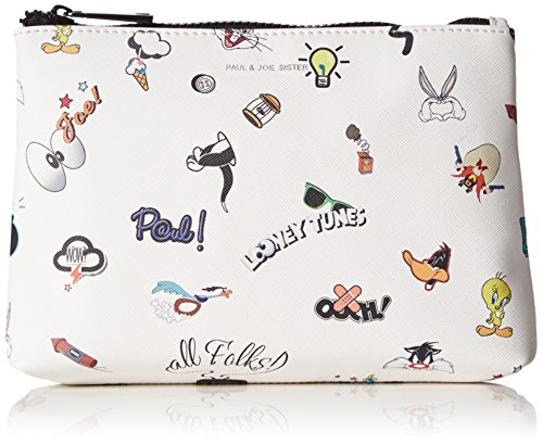 Paul & JoeCosmetic Pouch - Beauty Case Donna , Bianco (Weiß (Blanc 01 01)), 23x15x5 cm (B x H x T)