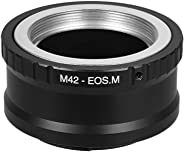M42-EOS M Lens Mount Adapter Ring M42 Lens to Canon EOS M Series Cameras Canon EOS M M2 M3 M5 M6 M10 M50 M100 Mirrorless Came