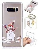 Galaxy Note 8 TPU Coque Housse étui transparent Cartoon Samsung Galaxy Note 8 Transparent Couverture Père Noël Cadeau du Père Noël – Keychain Photo Frame (* / 40) (1)