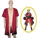 CoolChange Cosplay Mantel von Ninja Uzumaki im Eremiten Modus (XL)
